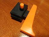 Кнопка болгарки маленький п'ятак фіксація, фото 3