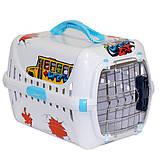 Moderna ГРАФИТИ 1 переноска для собак с металлической дверью IATA, фото 3