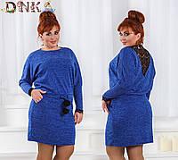 Платье с кружевом в расцветках 30889, фото 1