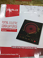 Плита индукционная стеклокерамическая световолновая STARLUX, плита бытовая, электроплитка кухонная