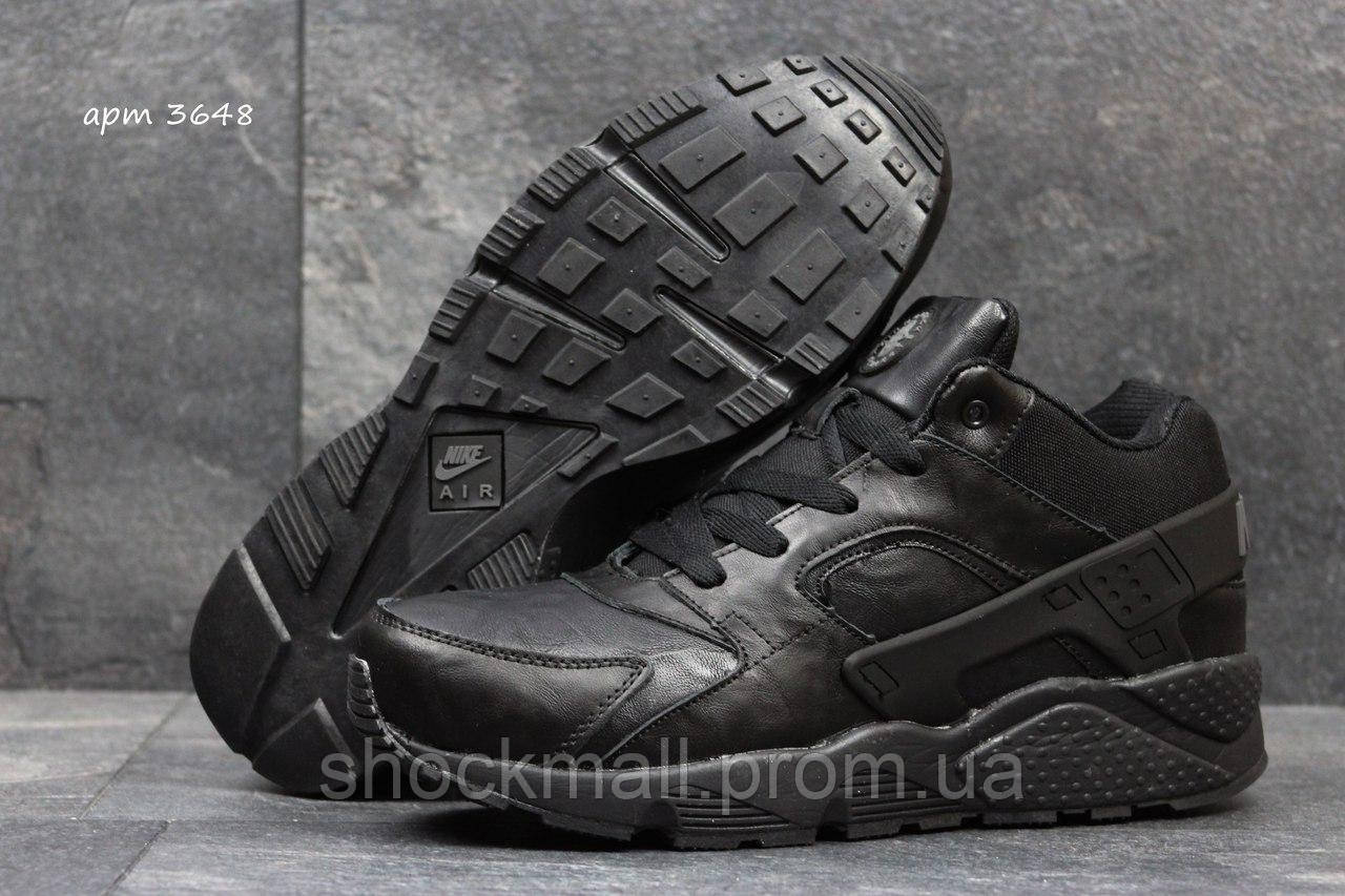 98fbcdff Кроссовки зимние мужские Nike Air Huarache Winter кожа мех реплика - Интернет  магазин ShockMall в Киеве