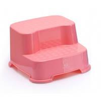 Ступеньки детские под унитаз и раковину Babyhood BH-504 Розовая