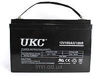 Аккумулятор BATTERY GEL 12V 100A UKCАккумулятор BATTERY GEL 12V 100A UKC, гелевый аккумулятор, батарея