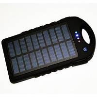 Портативное зарядное устройство Solar Charger Power Bank 45000mAh + LED фонарь