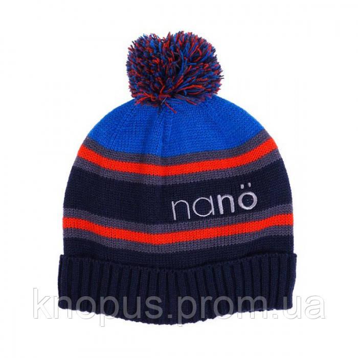 Копия Шапка зимняя Nano,  Navy