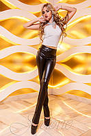 Женские кожаные брюки Локси