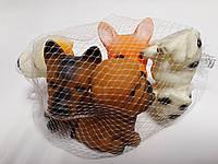 Резиновые игрушки для ванной Собачки Набор 5 шт. в сетке 79921 Китай