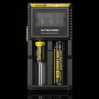 Универсальное зарядное устройство аккумуляторов Nitecore Digicharger D2 с LED дисплеем