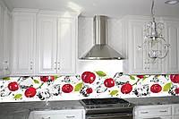 Кухонный фартук Вишня и лед