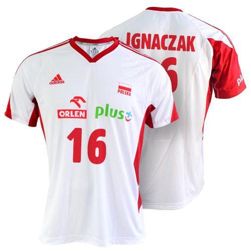 Оригинальная Футболка Adidas MT VB FO MO JR S Ignaczak O04644IG-BIALA