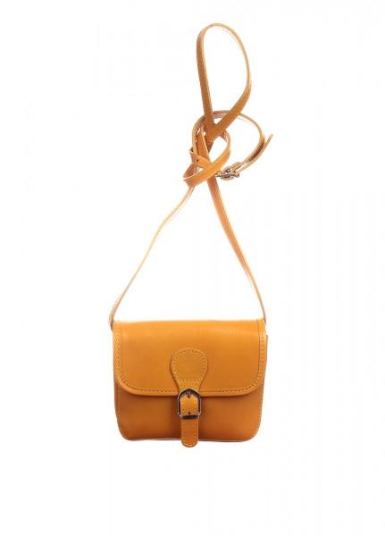 8edab51d979f Женская кожаная сумка DIVAS Alma TR956 желтая — купить в Киеве недорого
