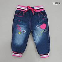 Теплые джинсы для девочки. Маломерят. 1, 2, 4 года
