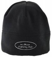 Шапка Fishing ROI флисовая с лого цвет-черная