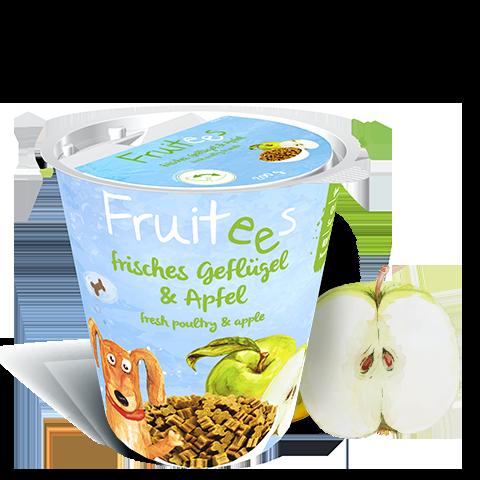 Bosch Fruitees Chicken & Apple 200 г - лакомство для собак с яблоком