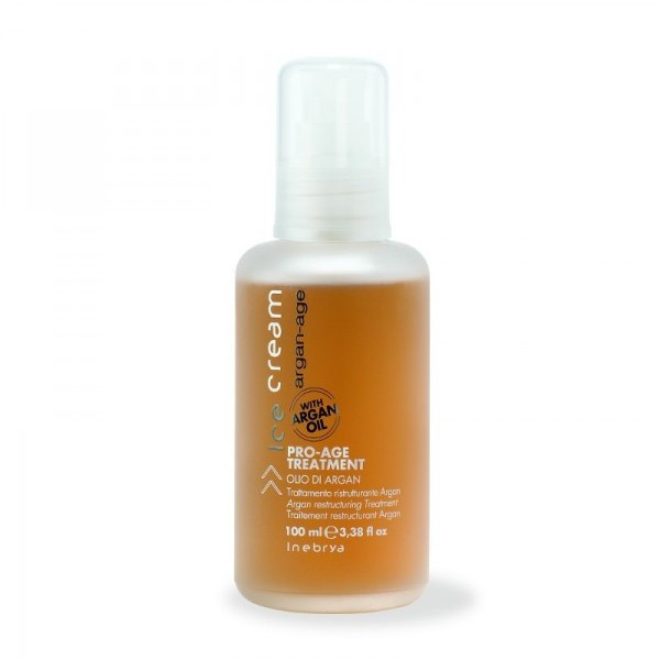 Аргановое масло для от секущихся волос PRO-AGE TREATMENT 100 млInebrya