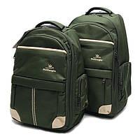 S-1291 WSD Рюкзак на колесах зеленый