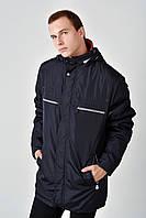 Демисезонная мужская куртка больших размеров 4014 58