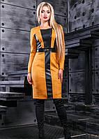 Чудесное платье в деловом стиле платье 2412