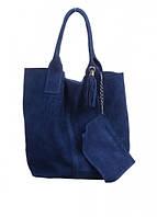 Женская замшевая сумка DIVAS ARIANNA S6813 фиолетовая