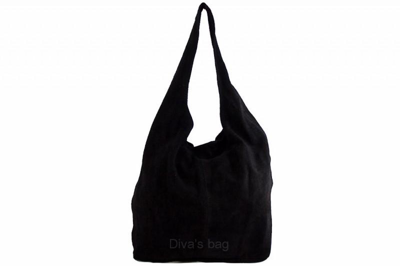 775a1b5286d1 Женская замшевая сумка DIVAS MONICA BS15206 черная — купить в Киеве ...