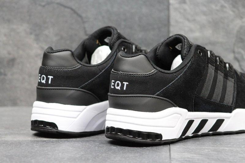 8fb069df10d103 Чоловічі кросівки 3581 Adidas Equipment чорні з білим, цена 862 грн./пара,  купить Хмельницький — Prom.ua (ID#608742455)