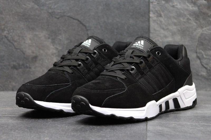 6c4b781fd57aa6 Чоловічі кросівки 3581 Adidas Equipment чорні з білим - Камала в Хмельницком