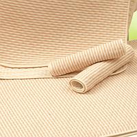 Пеленка непромокаемая из неотбеленного  органического  хлопка , односторонняя Размер 30Х45 см.