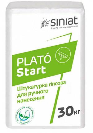 ШТУКАТУРКА гипсов. START Plato 30кг Siniat, фото 2