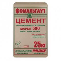 Цемент М500 ПЦ 25кг Polimin
