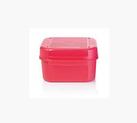 Кристальная емкость (450 мл) в розовом цвете