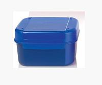 Кристальная емкость (450 мл) в синем цвете