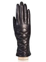 Женские перчатки кожаные черные IS507