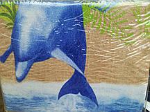 Постельный комплект махровый Дельфин