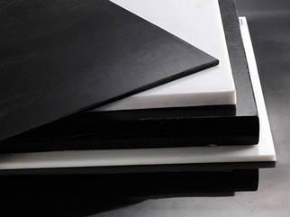 Полиацеталь лист т.12 мм (белый / черный)