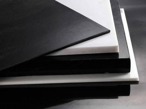 Полиацеталь лист т.25 мм (белый / черный)