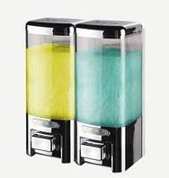 Дозатор мыла двойной настенный
