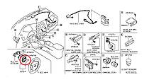 Nissan Leaf  Модуль підключення подушки безпеки руля