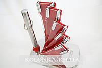 Набор кухонных ножей с подставкой Swiss Zurich SZ-14007 RED