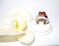 Серебряное мужское (унисекс) кольцо с натуральным султанитом