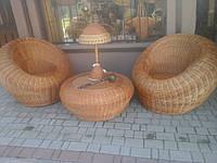 """Набор мебели из цельной лозы """"Лукошко"""" код 32987, фото 1"""