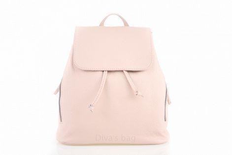 6a274b091ada Женский кожаный рюкзак DIVAS Zelinda S7068 розовый - Интернет магазин