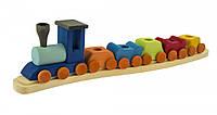 Nic Подсвечник праздничный деревянный Поезд прямой NIC522835