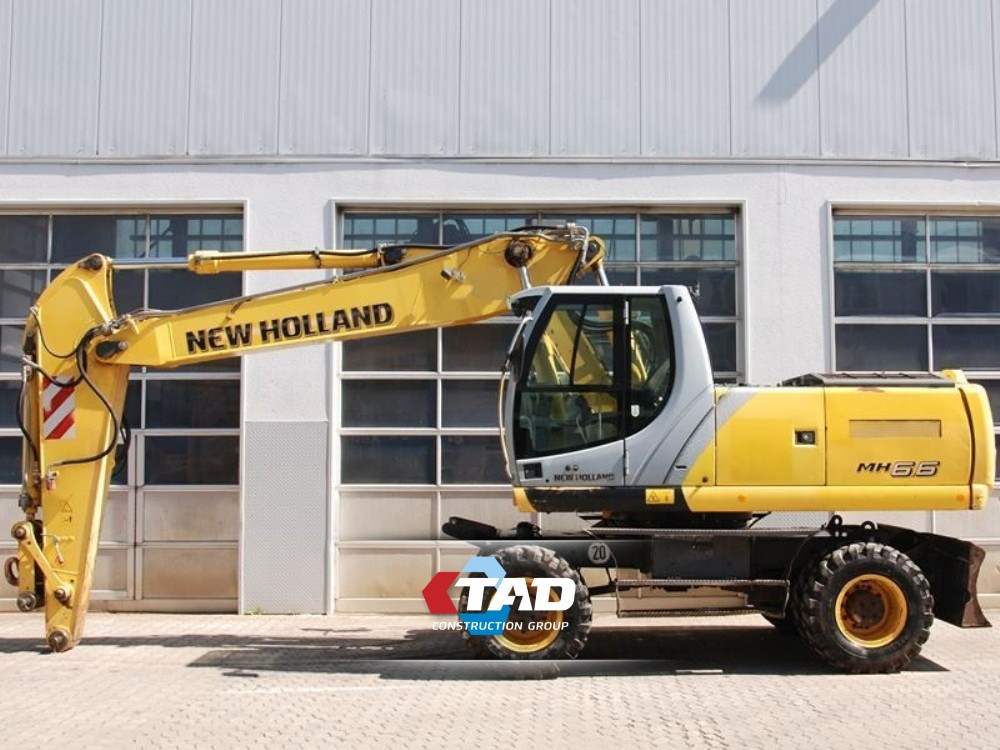 Колесный экскаватор New Holland MH 6.6 (2008 г)