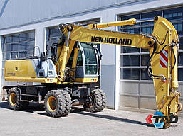 Колесный экскаватор New Holland MH 6.6 (2008 г), фото 2