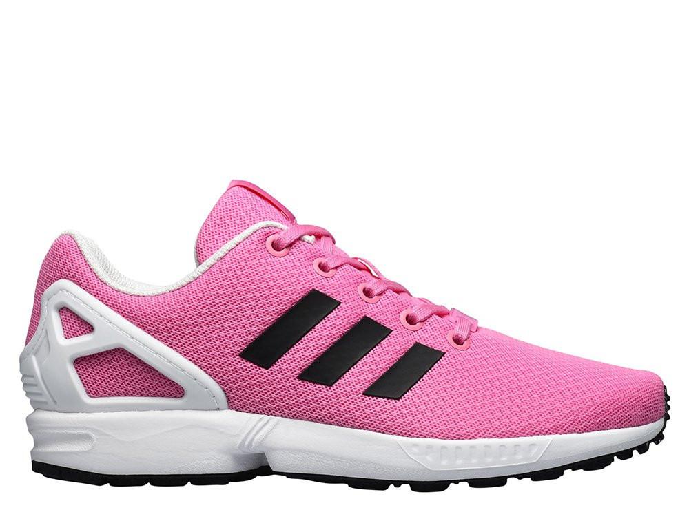 huge discount 97d7e 8a107 Оригинальные Кроссовки Adidas ZX Flux Junior Pink/Black BB2409