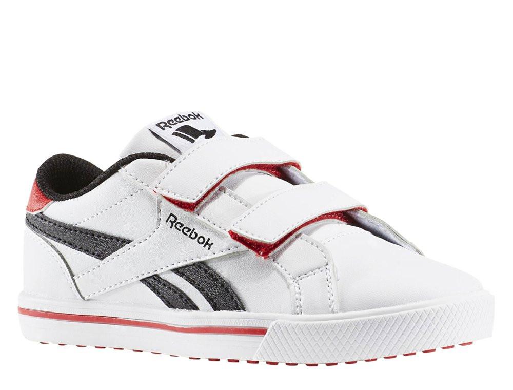 Оригинальные Кроссовки Reebok Royal Comp 2 White/Black/Red  BD2513