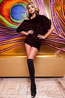 Женская черная туника Касити ТМ Jadone  42-48 размеры