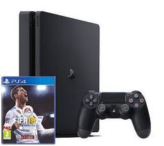 "SONY PLAYSTATION 4 SLIM 1 TB + ""FIFA 18"""