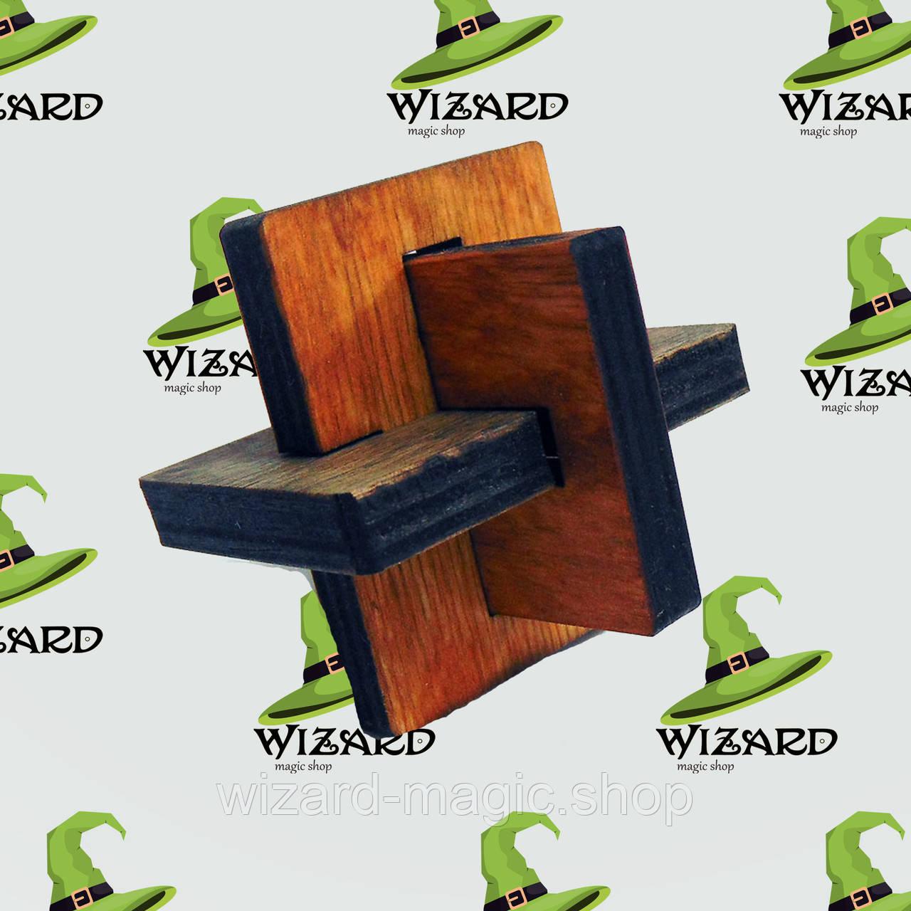 Головоломка деревянная 3D Узелок