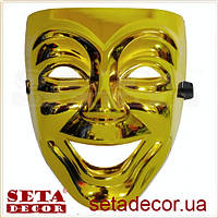 Театральная маска с улыбкой Лицо